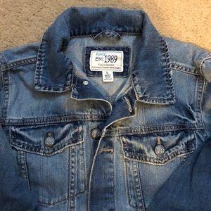 Boys denim jacket 10/12